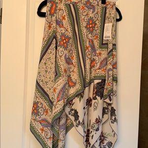 Maeve NWT handkerchief skirt